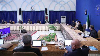 جلسه هیئت وزیران