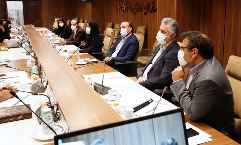 جلسه بررسی مسائل ساماندهی کارکنان دولت